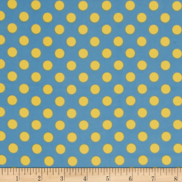 Kimberbell Little One Flannel Too! Dots Blue Yellow - Discount ...
