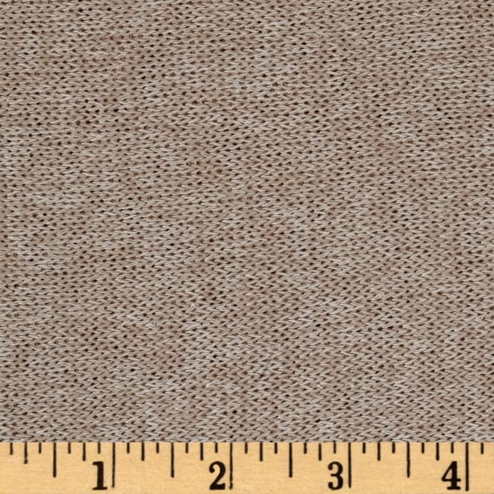 c5ce30f2849c Lightweight Marled Sweater Knit Sand - Discount Designer Fabric ...