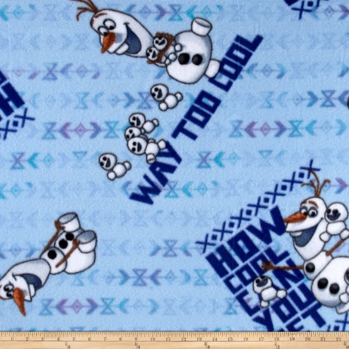 disney frozen how cool can you get fleece blue discount