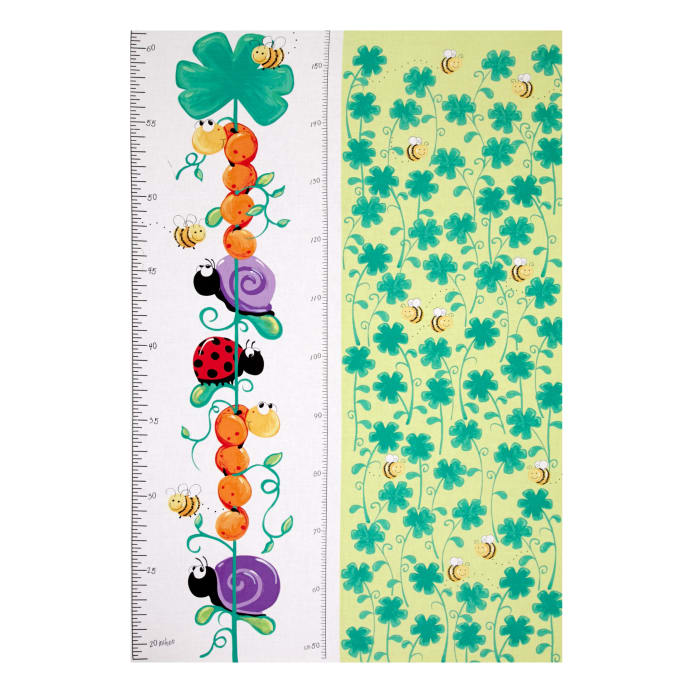 Susybee Leif The Caterpillar 30 In Growth Chart Panel Multi