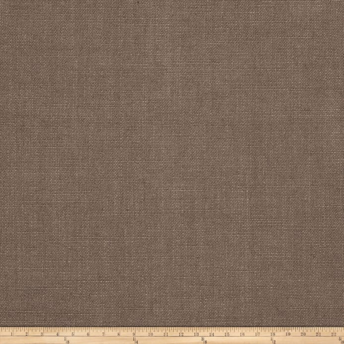 Zoom Vern Yip 03351 Linen Blend Solid Taupe