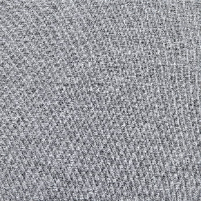 ee05d003f14 Fabric Merchants Cotton Lycra Spandex Jersey Knit Heather Gray Fabric