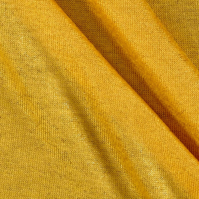 bca5d35bbd3 Jersey Knit Stretch Sparkle Yellow/Gold - Discount Designer Fabric ...