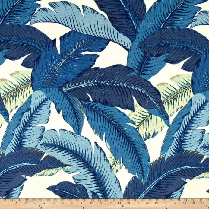 Zoom Tommy Bahama Indoor Outdoor Swaying Palms Indigo