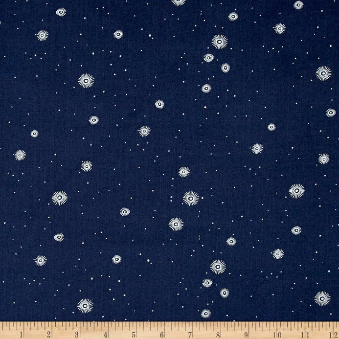 Dear stella supernova night sky navy discount designer for Night sky print fabric