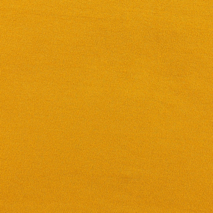 57b4b4ea344 Fabric Merchants Double Brushed Solid Jersey Knit Mustard - Discount ...