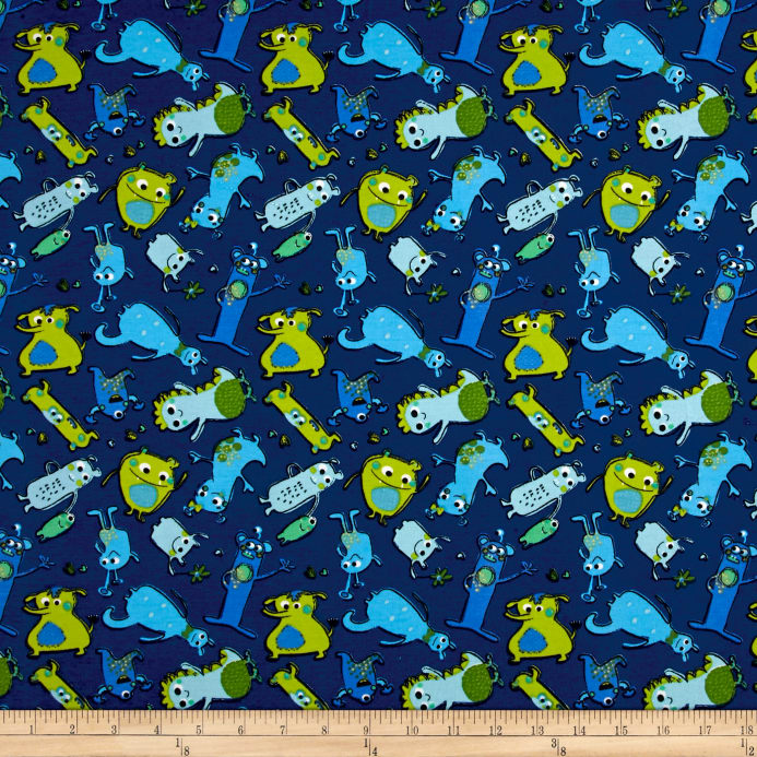 Fantasy apparel fashion fabric shop online at for Monster themed fabric