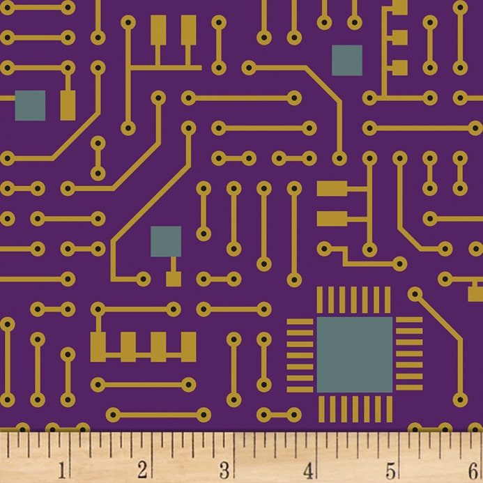 Matthew\'s Mini Monsters Circuit Board Purple - Discount Designer ...