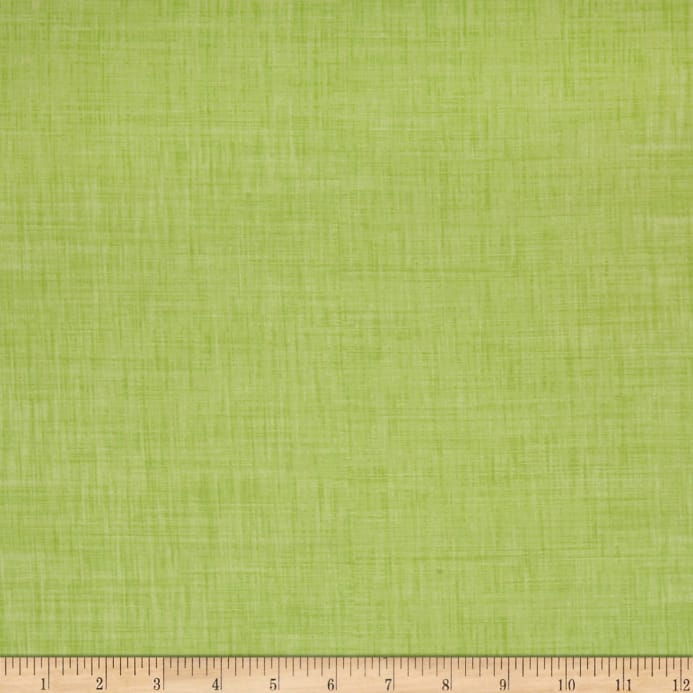 Color Weave Soft Brights Light Green Fabric