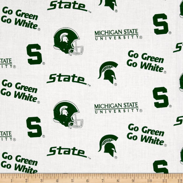 picture about Printable College Logos identify NCAA Michigan Place School Tossed Trademarks White Material