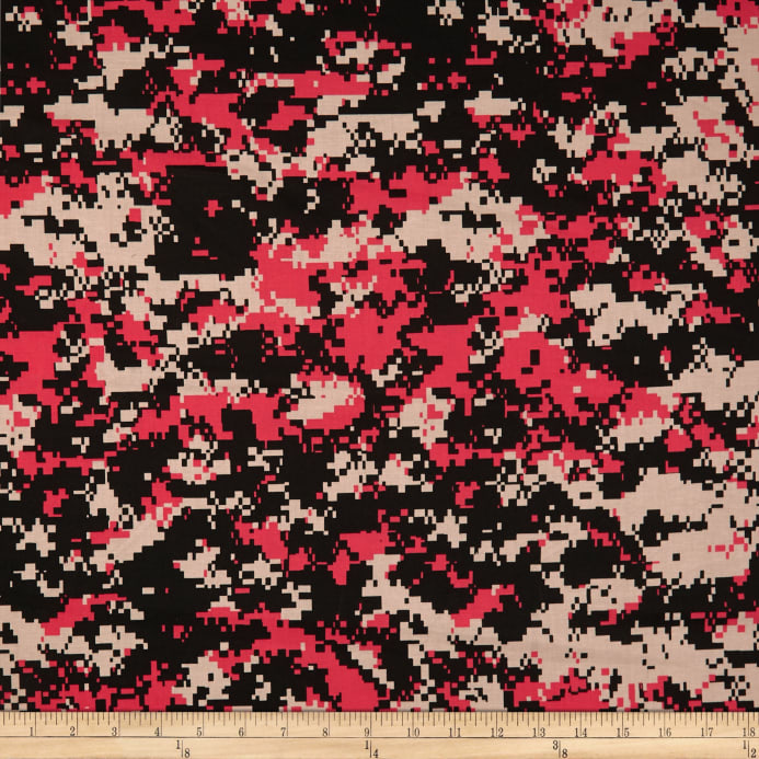 Urban Camouflage Beige Red Black Discount Designer