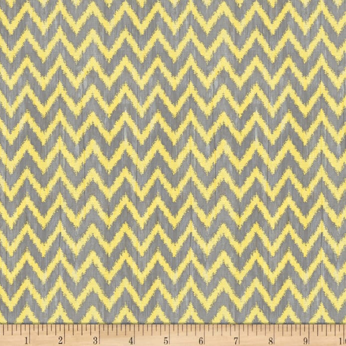 Wilmington To The Moon and Back Chevron Gray/Yellow - Discount ...