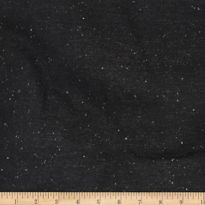 8544c3f3f98a Telio Norway Speckle French Terry Fleece Knit Black White - Discount ...