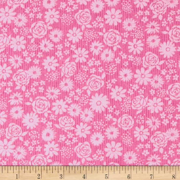 andover top drawer tonal floral baby pink