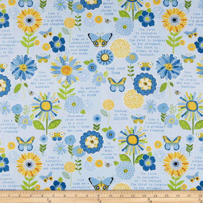 Wilmington sing your song flowers and sentiments blue discount zoom wilmington sing your song flowers and sentiments blue mightylinksfo