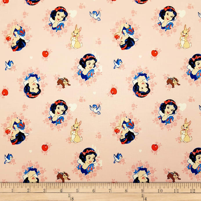 7fabf85a zoom Disney Forever Princess Snow White In Wreaths in Light Coral