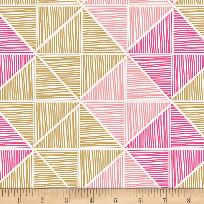 Art Gallery Chalk & Paint Angular Strings Fabric