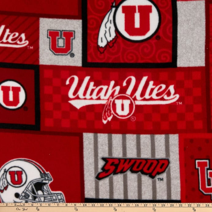 NCAA Utah Utes College Patch Fleece