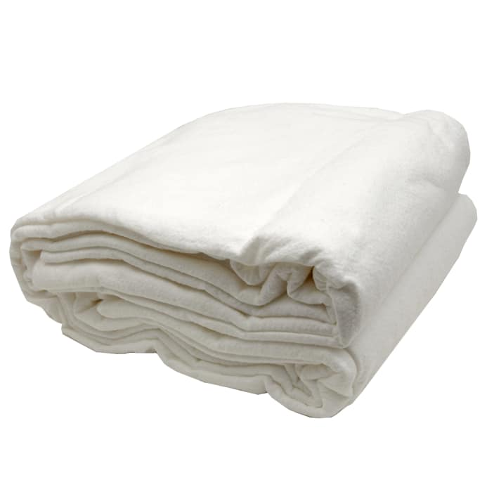 Warm & White Cotton Batting (120'' x 124'') King Size - Discount ... : heavyweight quilt batting - Adamdwight.com