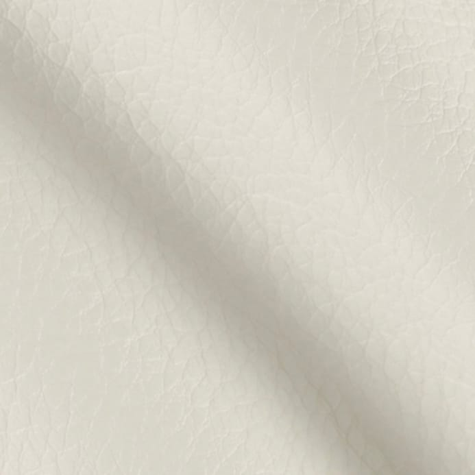 faux leather fabric calf white - discount designer fabric