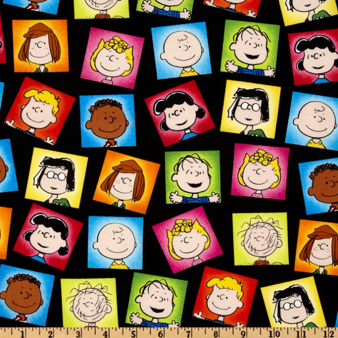 Happiness Is…Peanuts Character Frames Black - Discount Designer ...