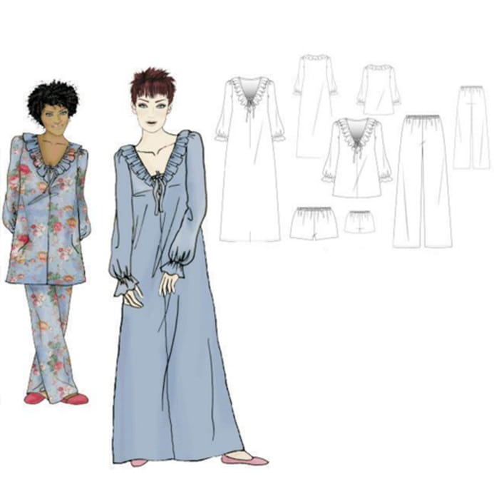 Hot Patterns Boudoir Of Bliss Gloriana Nightgown Pyjamas Inspiration Hot Patterns