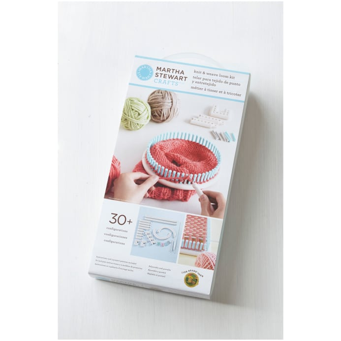 martha stewart crafts knit weave loom kit discount
