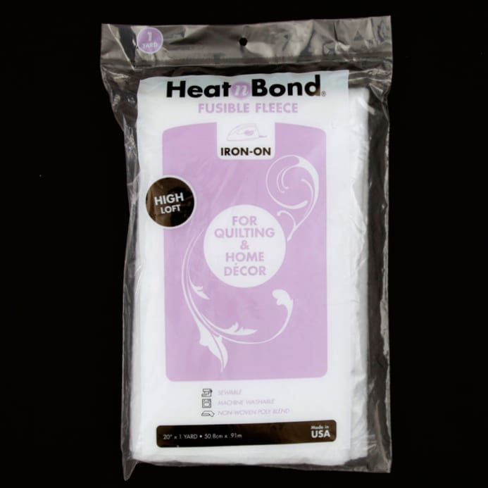 Zoom Heat N Bond 3339 High Loft Iron On Fusible Fleece