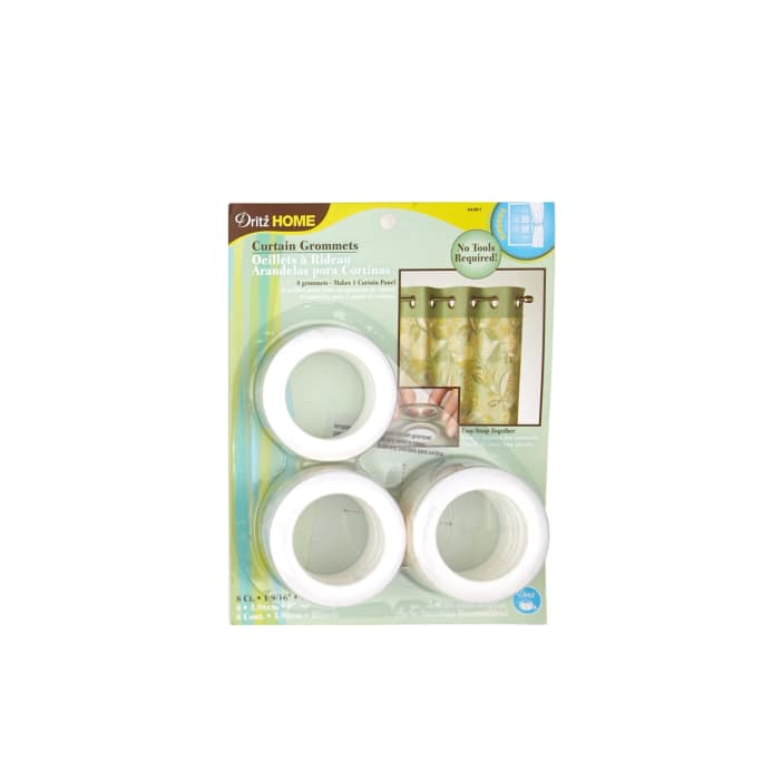 Curtain Grommets 8 Pack White 1