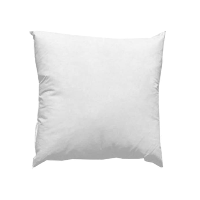 40'' X 40'' FeatherDown Pillow Form White Discount Designer Unique 18x18 Down Pillow Insert