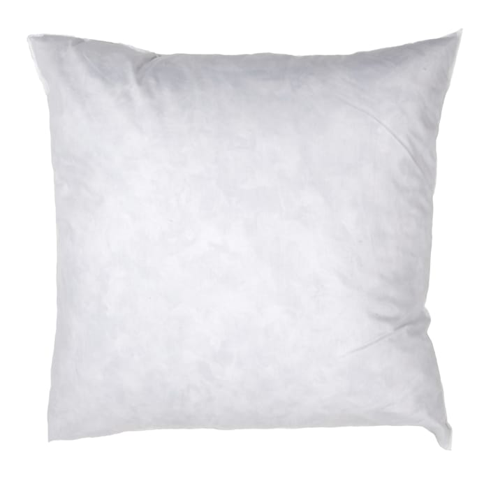 40'' X 40'' FeatherDown Pillow Form White Discount Designer Cool 12 X 24 Pillow Insert