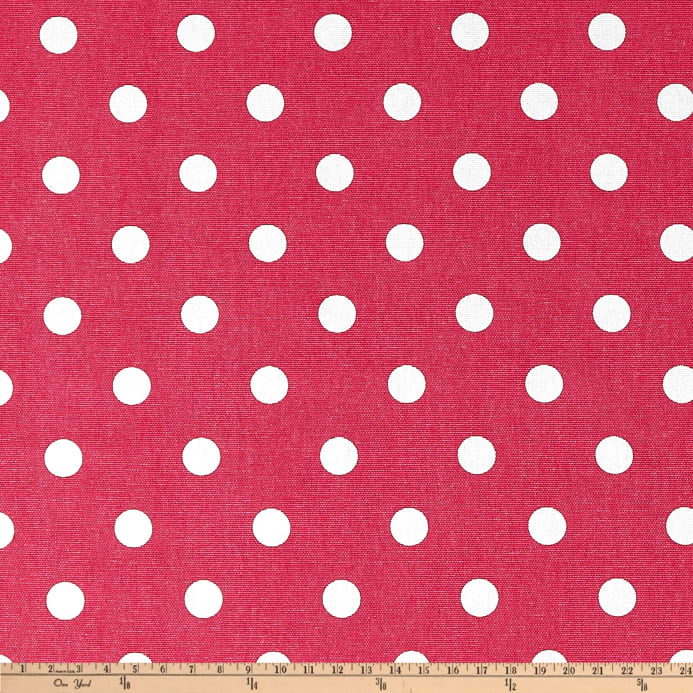 Premier Prints Polka Dot Candy Pink White Discount