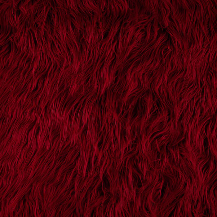 Shannon Faux Fur Mongolian Red