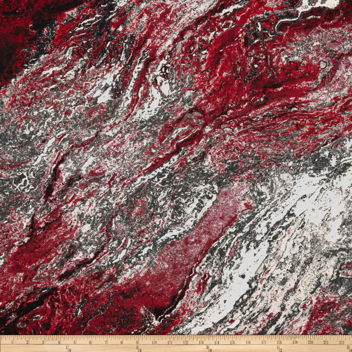 Fashionista Marble Textural Red
