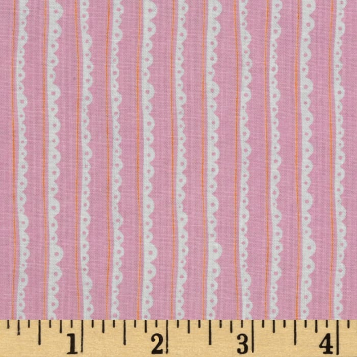 Tea Party Stripe Pink