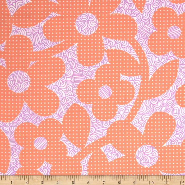 Weekends Dots & Loops Peach