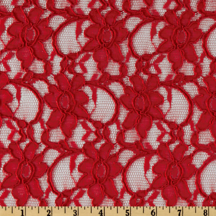 Xanna Lace Red