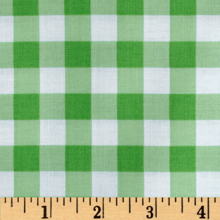 Brights & Pastels Basics Large Plaid Green