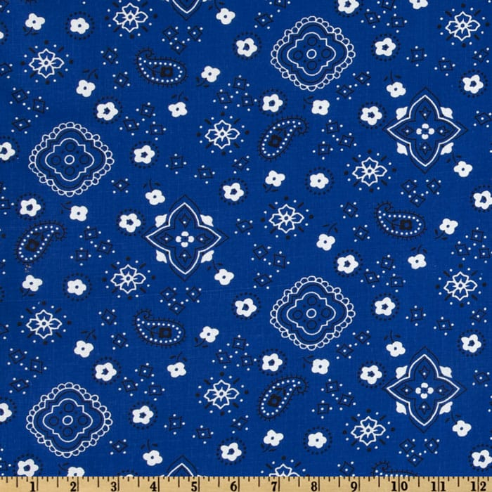 Bandana Prints Royal