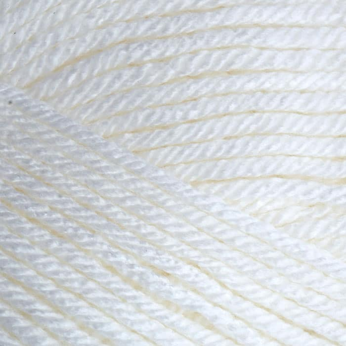 Deborah Norville Everyday Solid Yarn 01 Snow White