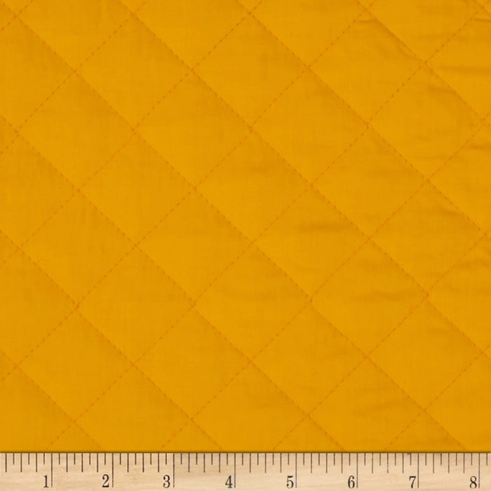 Double Sided Quilted Broadcloth Canary