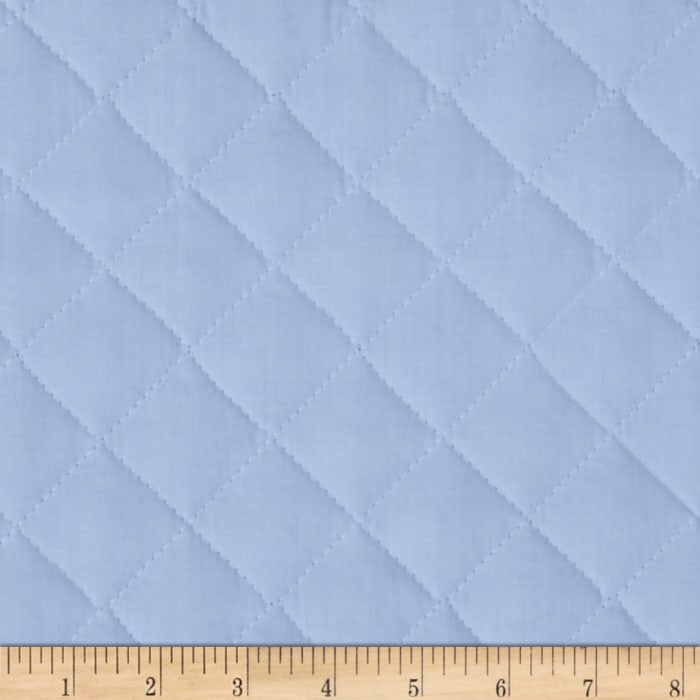 Double Sided Quilted Broadcloth Rock-A-Bye Blue