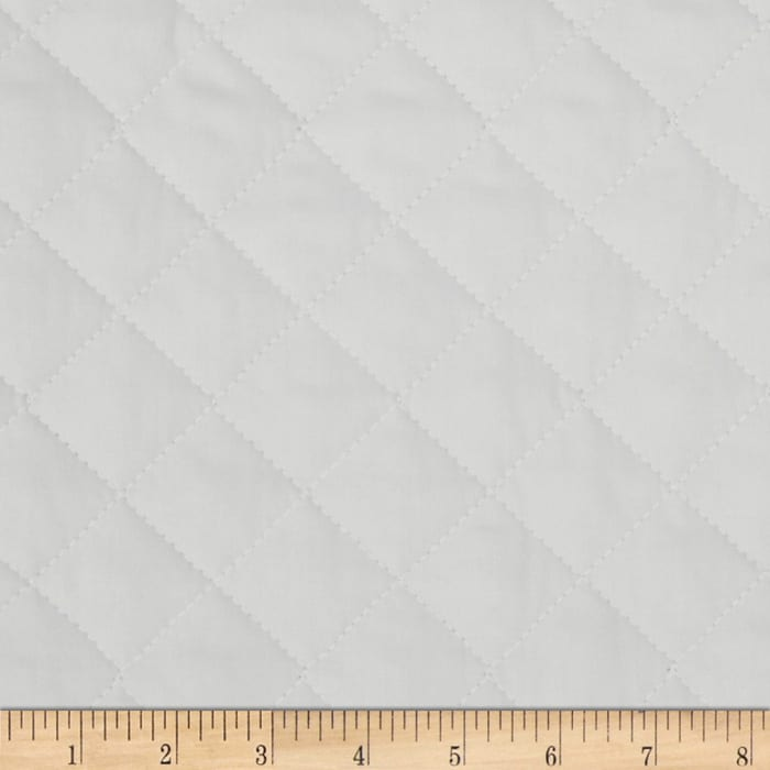 Double Sided Quilted Broadcloth Ash Grey