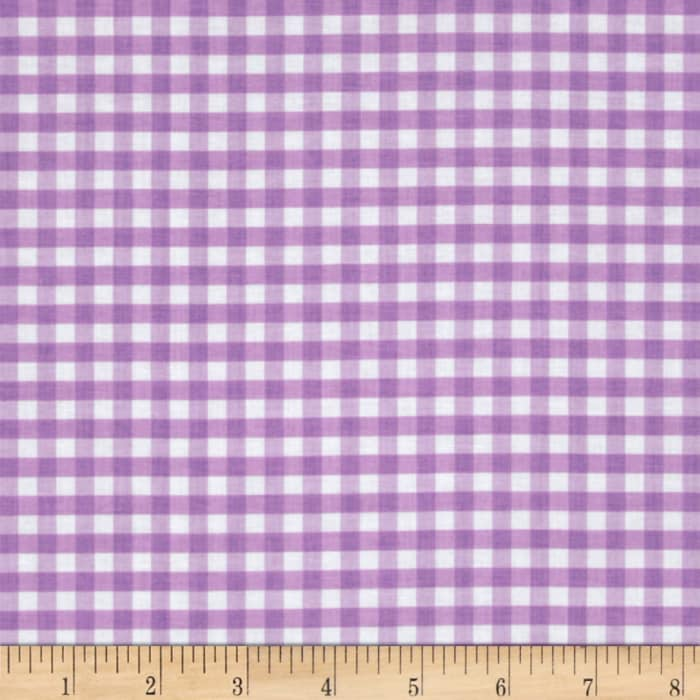 Riley Blake Medium Gingham Lavendar