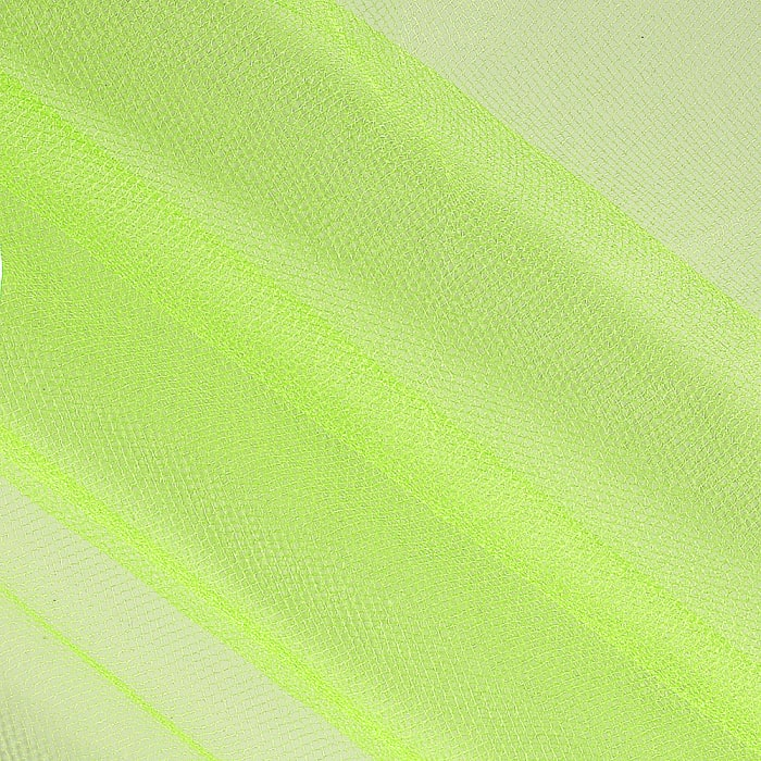 54'' Wide Shiny Tulle Lime