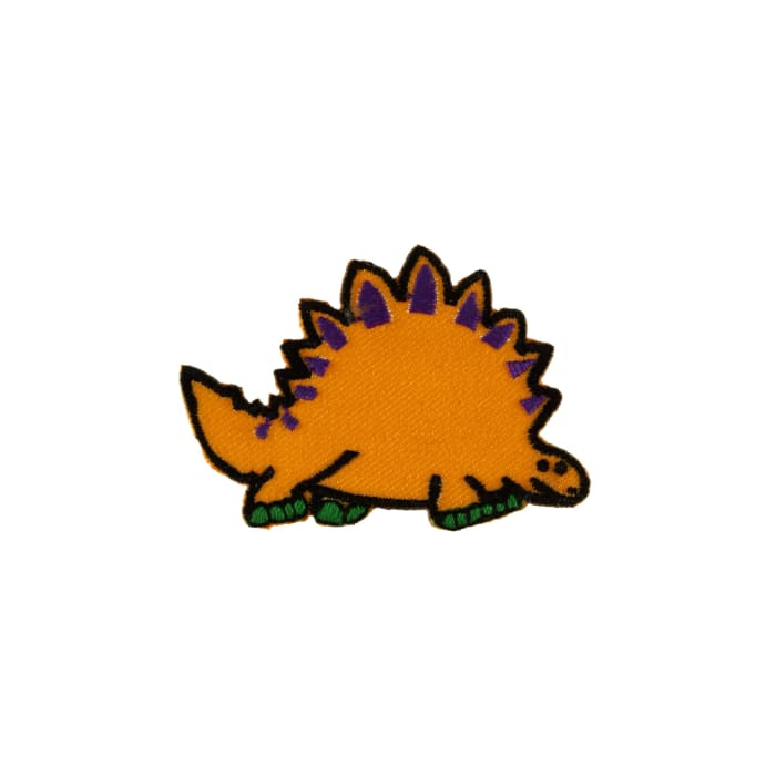 Dino with Spikes Applique