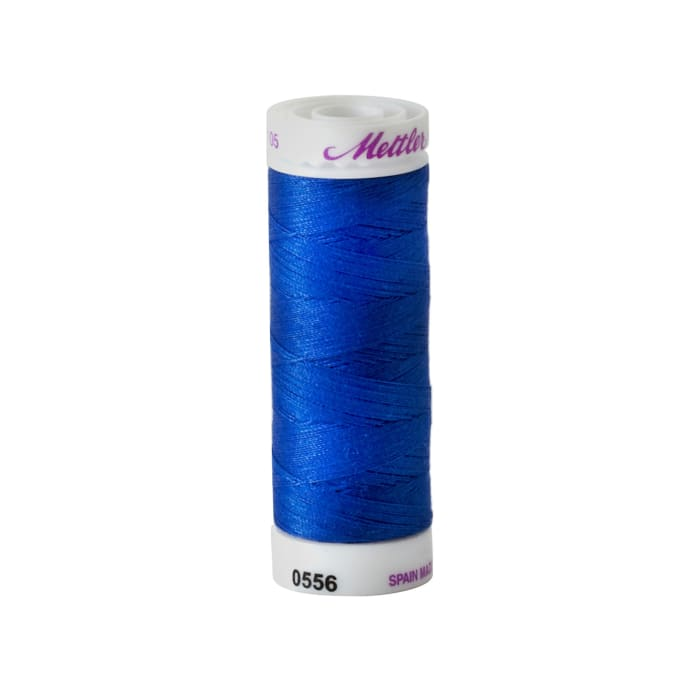 Mettler Cotton All Purpose Thread 3-ply 50wt 164YDS Nordic Blue