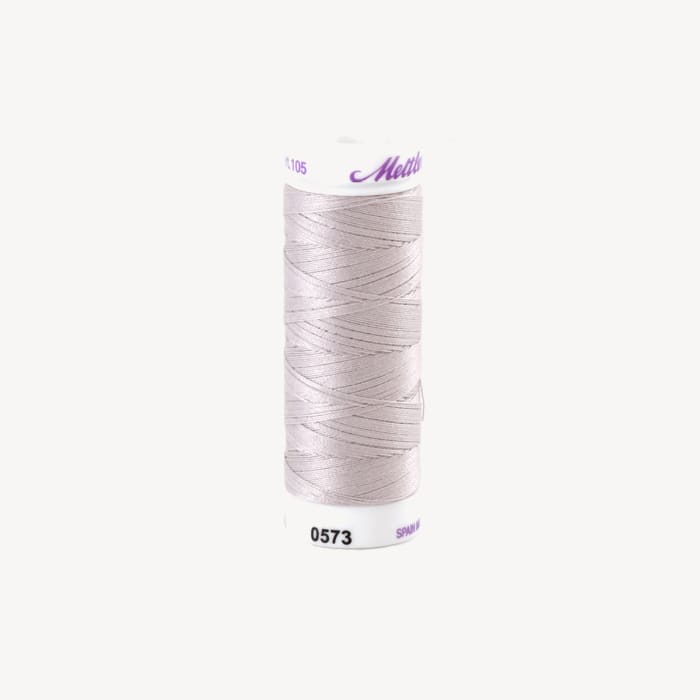 Mettler Cotton All Purpose Thread 3-ply 50wt 164YDS Whitewash