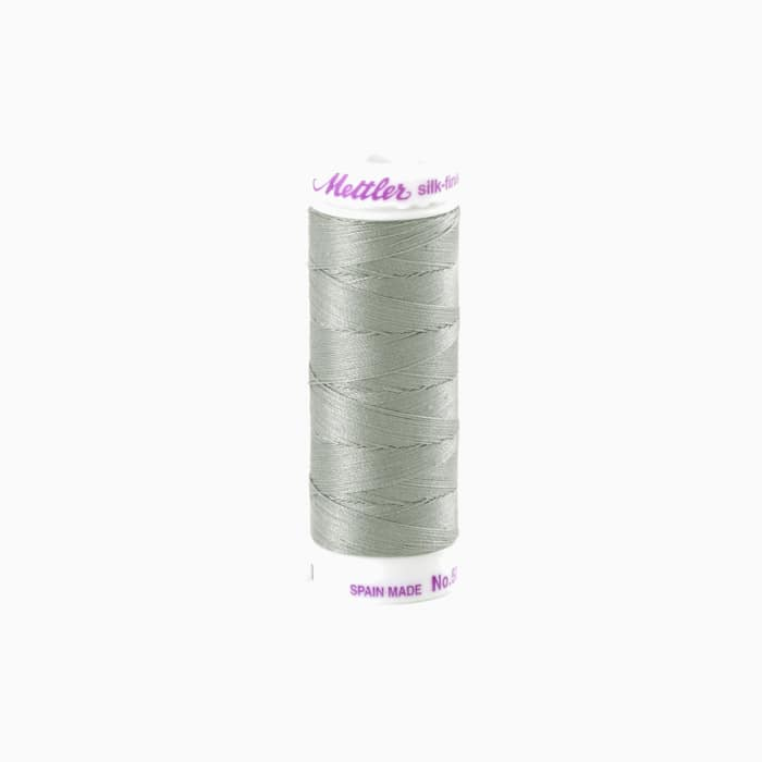Mettler Cotton All Purpose Thread 3-ply 50wt 164YDS Titan Grey