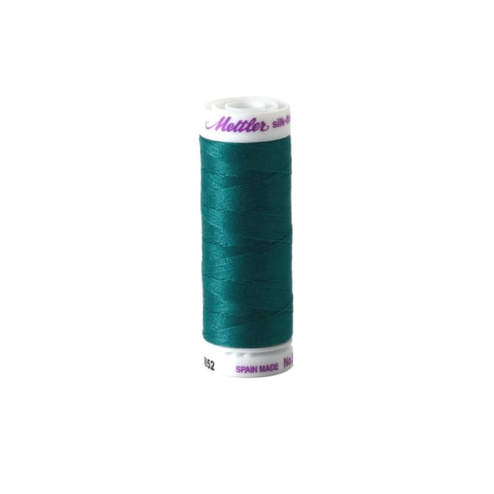 Mettler Cotton All Purpose Thread 3-ply 50wt 164YDS Truly Teal